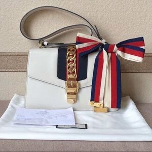 Gucci Sylvie white small